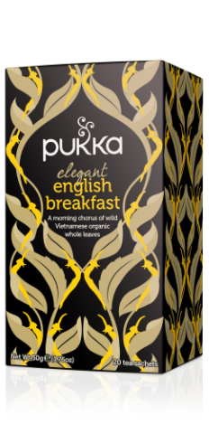 Elegant English Breakfast Tea