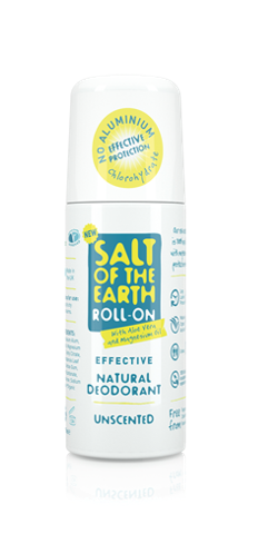 Natural Unscented Deodorant Roll-On