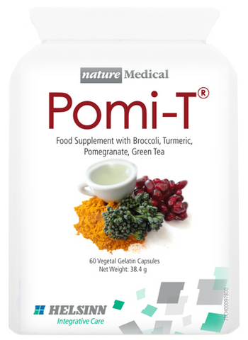 Pomi-T Capsules - Supplement with Broccoli, Turmeric, Pomegranate and Green Tea