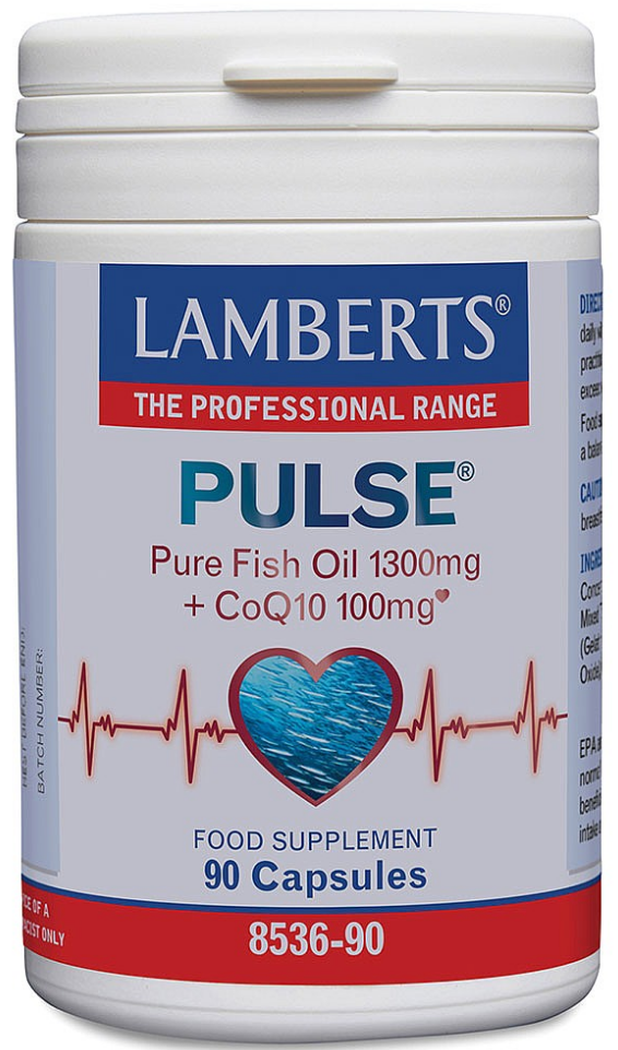 Pulse Pure Fish oil 1300mg + CoQ10 100mg