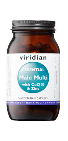 Essential Male Multi with CoQ10 and Zinc