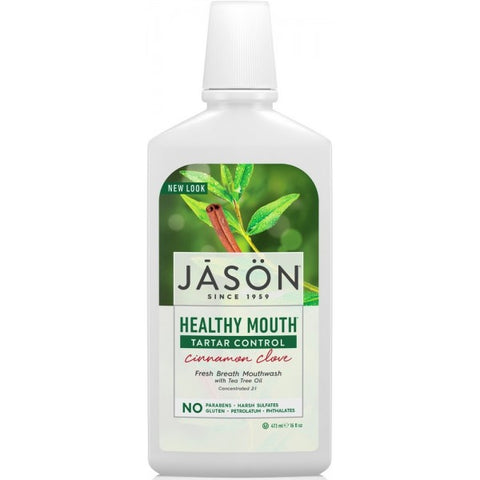 Healthy Mouth Cinnamon & Clove Mouthwash 473ml