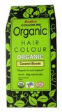 Organic Hair Colour Caramel Blonde 100g