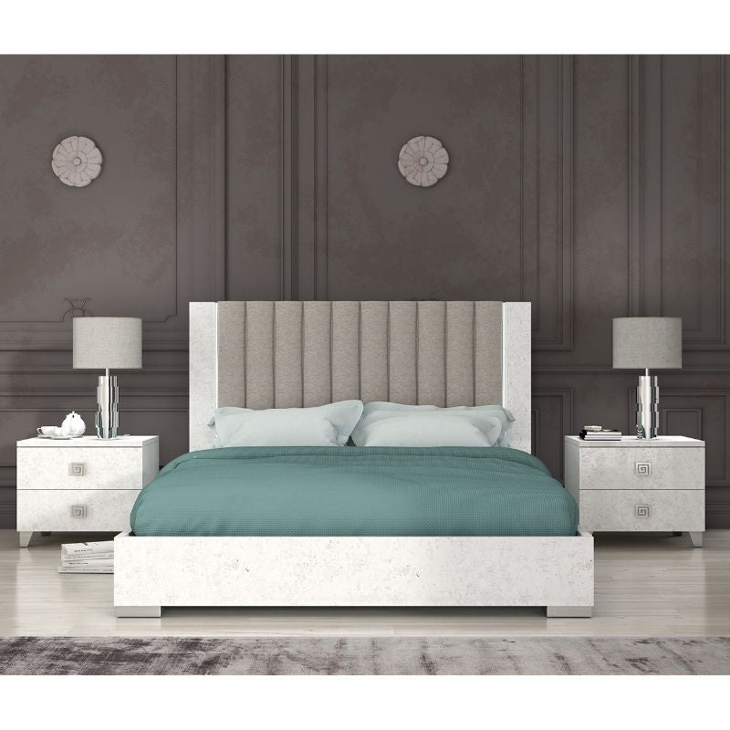 Alexa High Gloss Kingsize Storage Bedframe