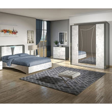 Load image into Gallery viewer, Olivia 4 Door High Gloss Wardrobe