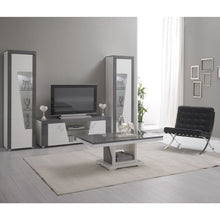 Load image into Gallery viewer, Ascot White Grey Gloss Coffee Table