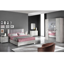 Load image into Gallery viewer, Alexa High Gloss Kingsize Storage Bedframe