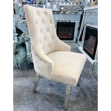Load image into Gallery viewer, Majestic Velvet Dining Chair