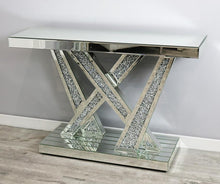 Load image into Gallery viewer, Mocka Stitch Console Table