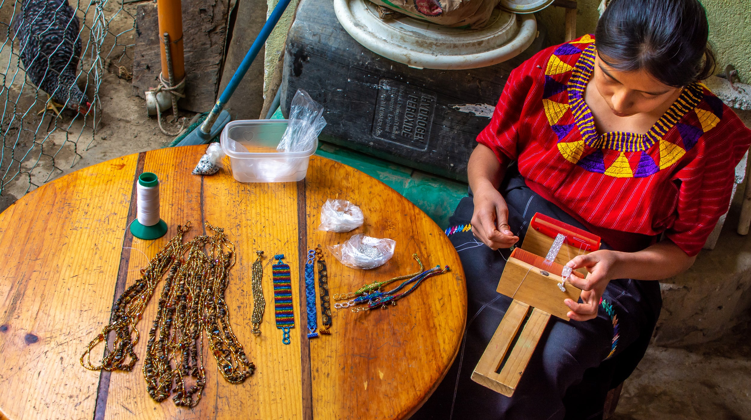 Beyond Beads goes beyond fair trade - offering women in Guatamala fair wages for the craftsmenship
