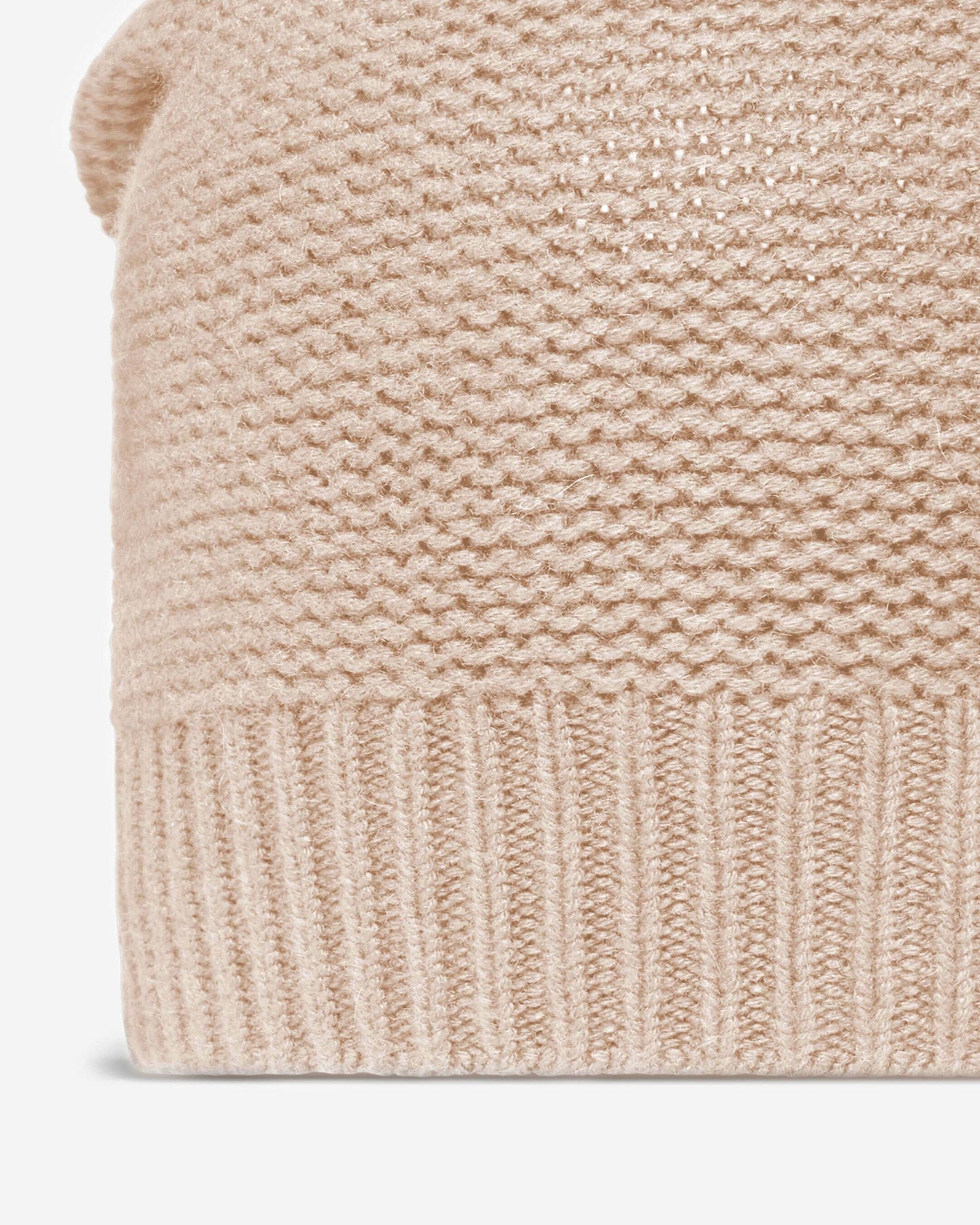 Beanie Cashmere Hat Fawn Brown 2