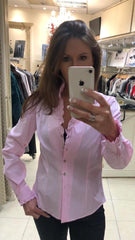 Beautiful pink shirt also in blue €79.95 at Rocco Boutique Dublin