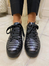 Load image into Gallery viewer, Black Lace Up Shoe from Callaghan Footwear at Rocco Boutique Dublin