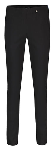 Bella Black Straight Leg Trousers from Robell at Rocco Boutique Dublin