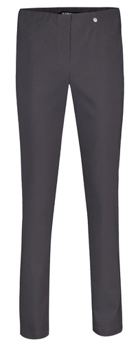 Bella Grey Straight Leg Trousers from Robell at StylishGuy Menswear