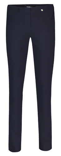 Bella Navy Straight Leg Trousers from Robell at Rocco Boutique Dublin