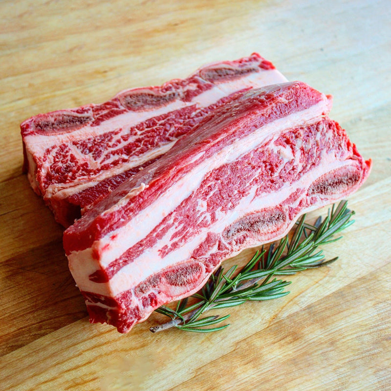 Short Ribs (Boneless or Bone-In)