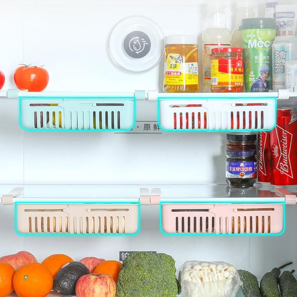 Fridge Organizer™ Adjustable Storage Rack - Pack Of 4