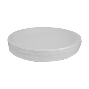 Disposable Foam Plates P10 | Pack of 25