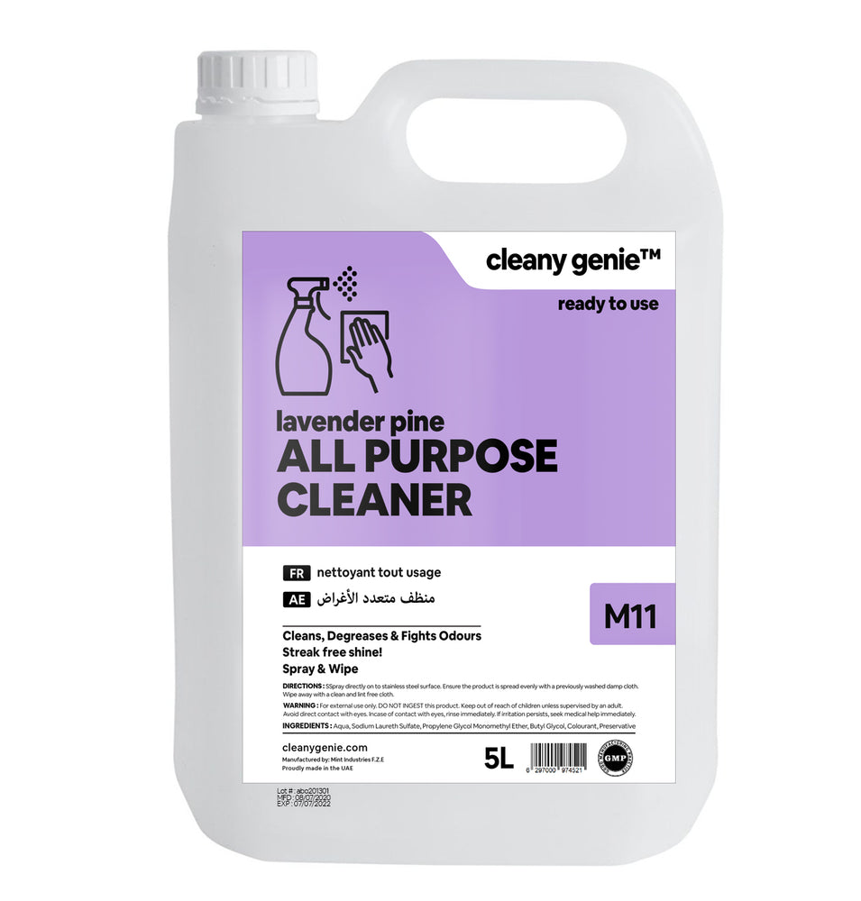 All Purpose Cleaner M11 | Lavender Pine 5L