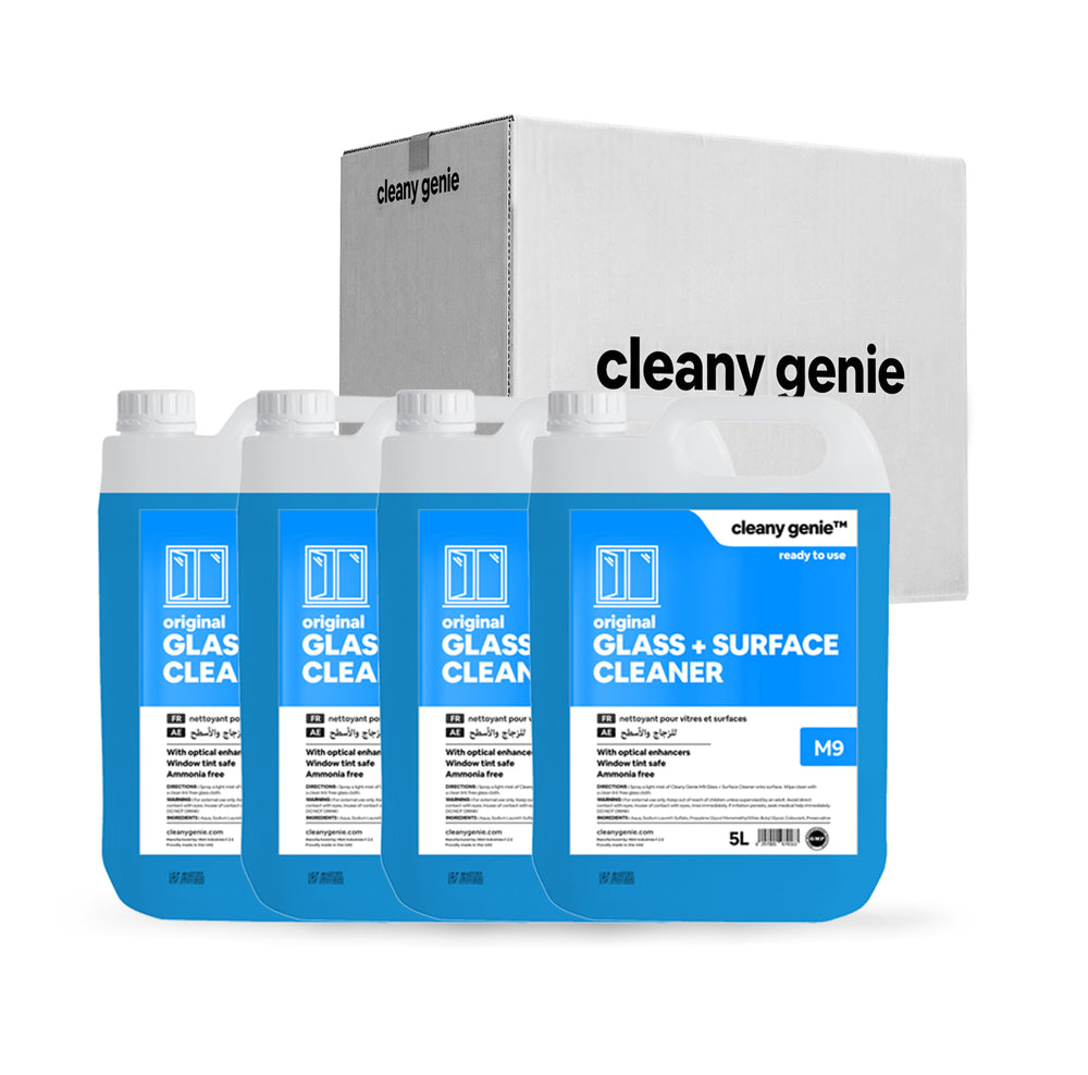 Glass & Surface Cleaner M9 | 5L | Pack of 4