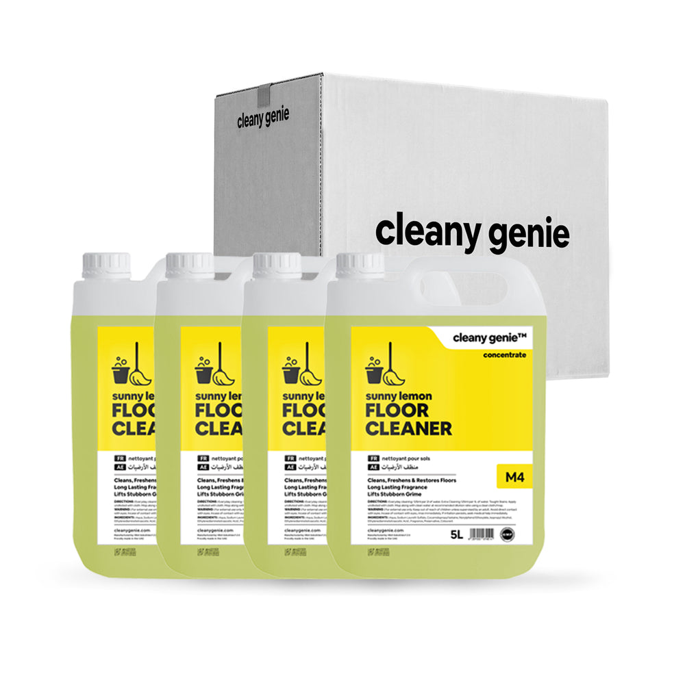 Load image into Gallery viewer, Floor Cleaner M4 | Sunny Lemon 5L | Pack of 4
