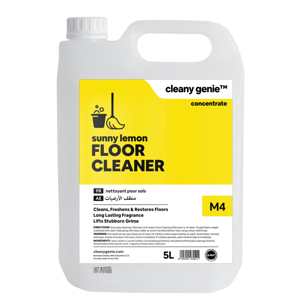 Floor Cleaner M4 | Sunny Lemon 5L