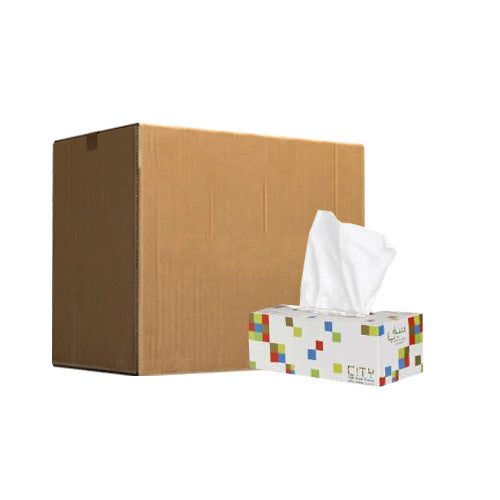 Facial Tissue City |  200 Sheets 190X180 | Pack of 30