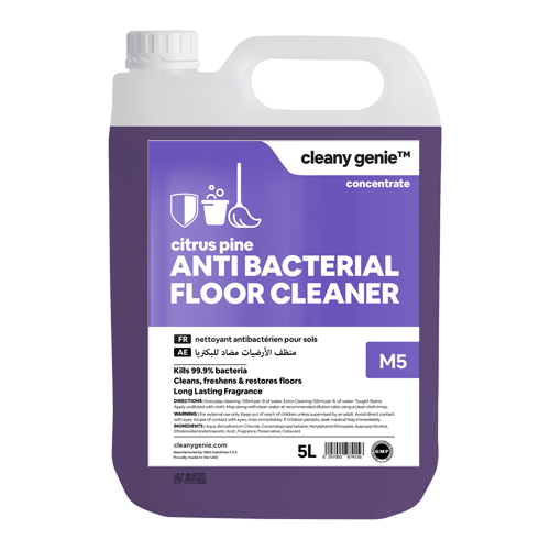 Antibac Floor Cleaner M5 | Citrus Pine 5L