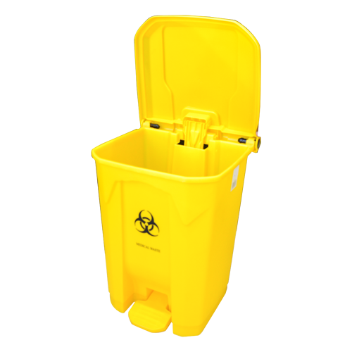 Garbage Can 45L with Lid & Pedal