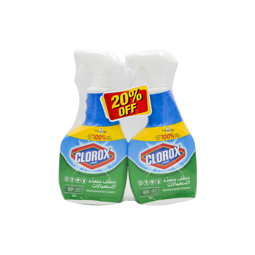 Load image into Gallery viewer, Clorox Multi Purpose Cleaner Spray 750ML 1+1
