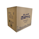 Metro Toilet Roll 400 Sheets | Pack of 100 Rolls