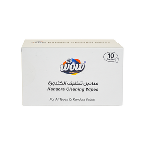 Wow Kandoora 10 Wipes Big Sachet Box
