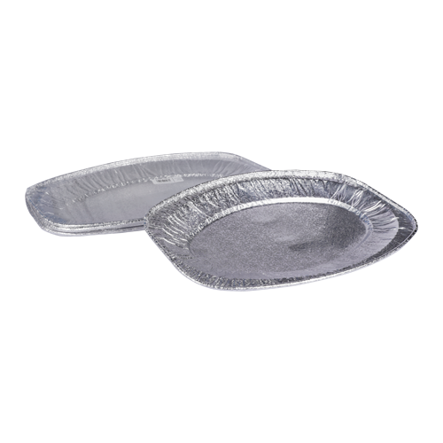 Aluminum Medium Platter 1800CC | 5 PCS