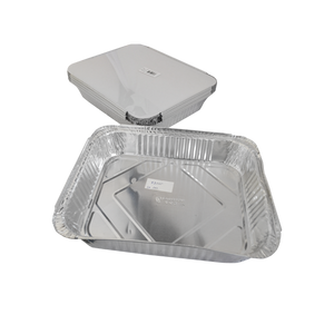 Aluminum Container with Lids 3650 CC | 10 PCS