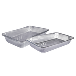 Aluminum Container Deep | 3 PCS