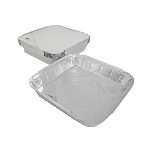 Aluminum Container with Lids 1800 CC | Pack of 10