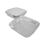 Aluminum Container with Lids 1800 CC | 10 PCS