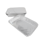 Aluminum Container with Lids 1900 CC | 10 PCS