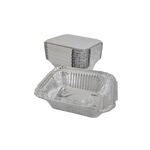 Aluminum Container with Lids 250 CC | Pack of 25