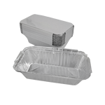 Aluminum Container with Lids No. 6 | 25 PCS