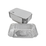 Aluminum Container with Lids 680 CC | 25 PCS