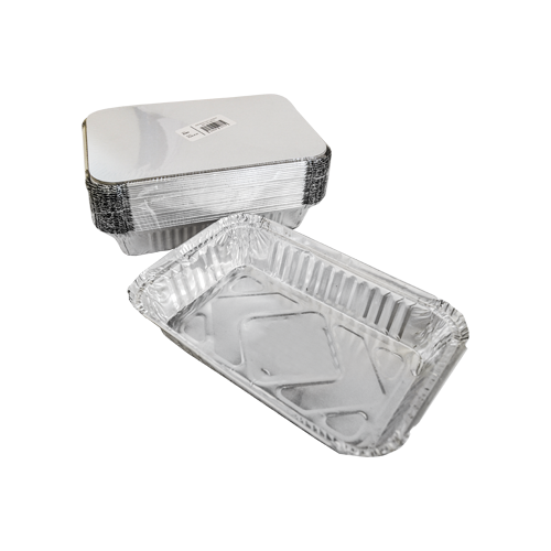 Aluminum Container with Lids 890 CC | Pack of 25