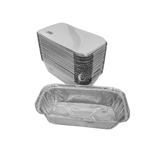Aluminum Container with Lids 900 CC | Pack of 25