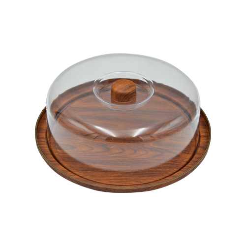 Evelin Cake Serving Tray with Cover