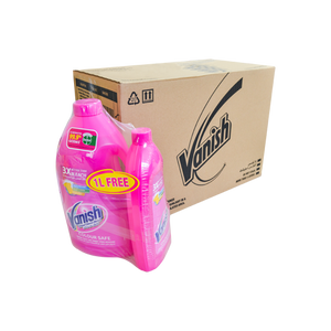Vanish Pink Liquid 3L + 1L Pink Free | Pack of 4