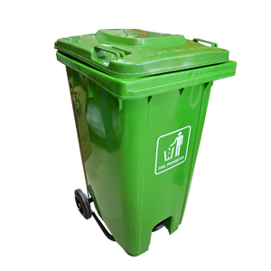 Garbage Can with Pedal 240L | Green