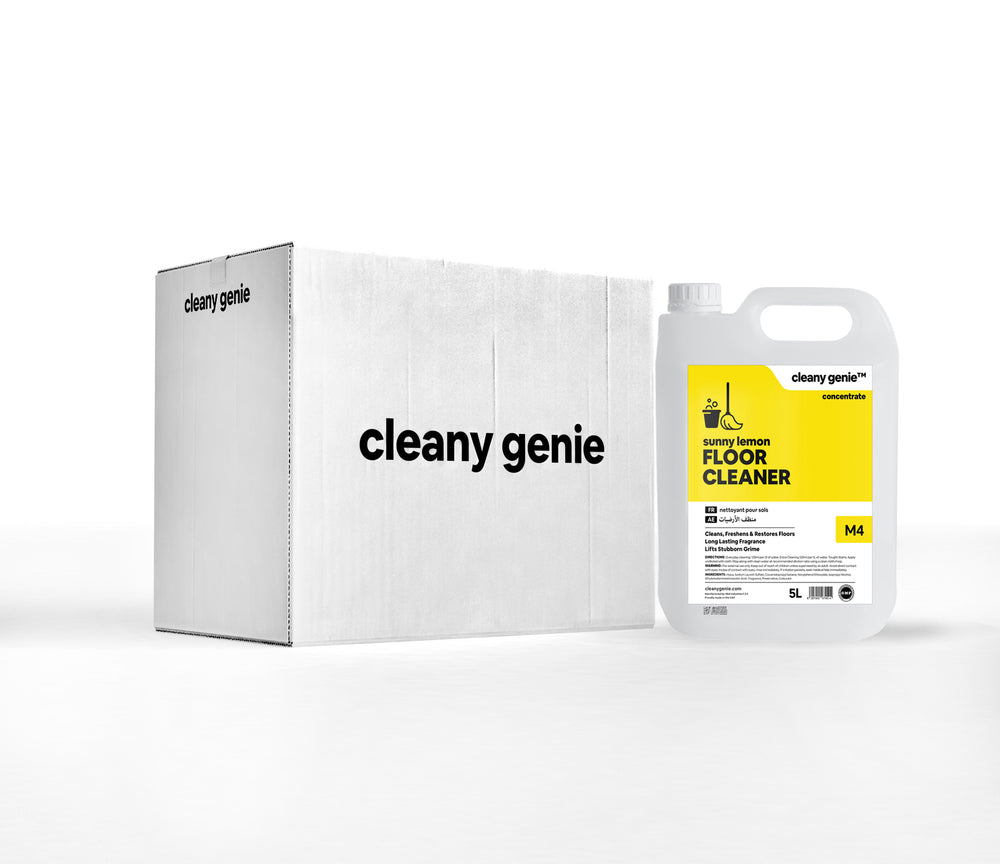 Floor Cleaner M4 | Sunny Lemon 5L | Pack of 4