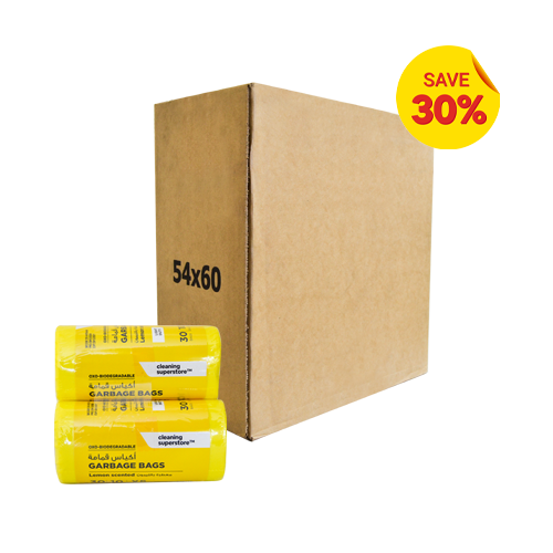 Garbage Bag Scented Lemon XS | 54X60CM | 20 Rolls