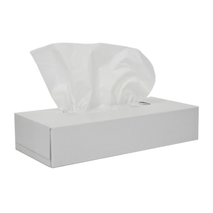 Facial Tissue White Box | 100 Sheets | Pack Of 48